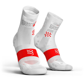 Compressport Pro Racing V3.0 Ultralight Run High Running Socks white
